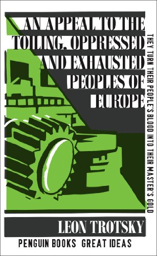 9780141036755: An Appeal to the Toiling, Oppressed and Exhausted Peoples of Europe (Penguin Great Ideas)