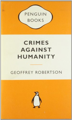 9780141037288: Crimes Against Humanity: The Struggle for Global Justice (Popular Penguins)