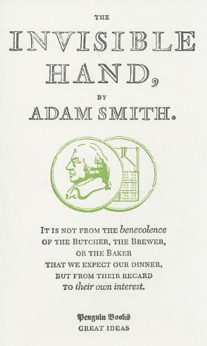 9780141042541: The Invisible Hand (Penguin Books: Great Ideas)