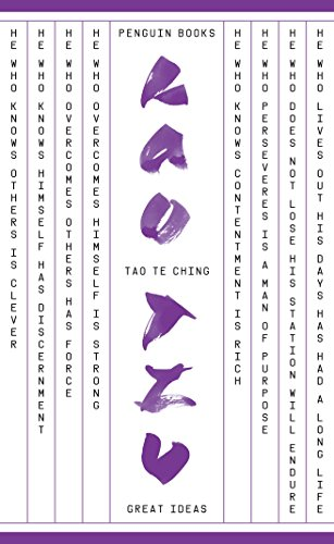 9780141043685: Tao Te Ching(Penguin books great ideas) (Penguin Great Ideas)