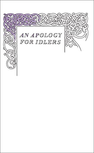 9780141043968: An Apology for Idlers (Penguin Great Ideas)