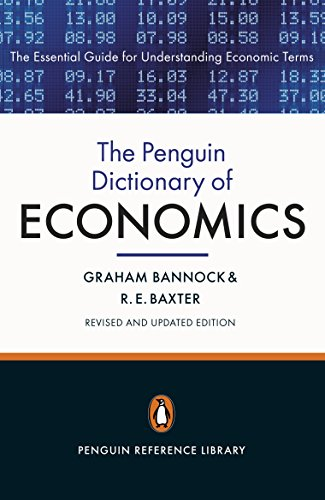 9780141045238: The Penguin Dictionary of Economics: Eighth Edition (Penguin Reference)