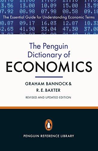 Penguin Dictionary of Economics (Paperback): Graham Bannock