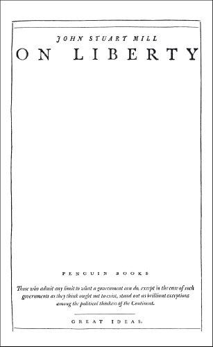 9780141046945: On Liberty (Penguin Great Ideas)