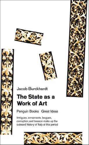 9780141048116: Great Ideas V the State As a Work of Art (Penguin Great Ideas)