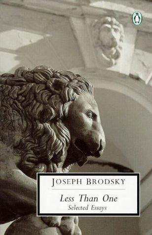 9780141180113: Less Than One: Selected Essays (Penguin Twentieth Century Classics)