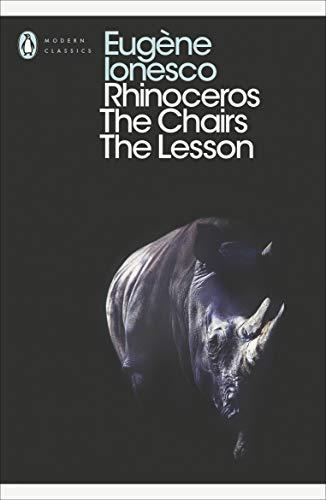 9780141184296: Modern Classics Rhinoceros Chairs Lesson (Penguin Modern Classics)