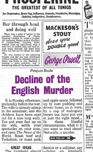 9780141191263: Great Ideas Decline of the English Murder (Penguin Great Ideas)