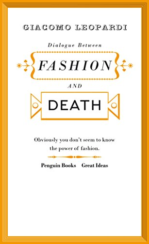 9780141192550: Great Ideas V Dialogue Between Fashion and Death (Penguin Great Ideas)