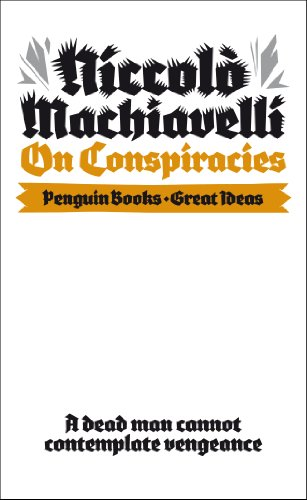 9780141192772: On Conspiracies (Penguin Great Ideas)