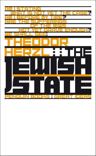 9780141192901: The Jewish State (Penguin Great Ideas)