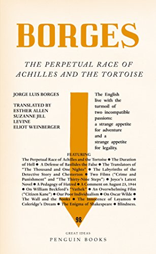 9780141192949: Great Ideas V the Perpetual Race of Achilles and the Tortoise