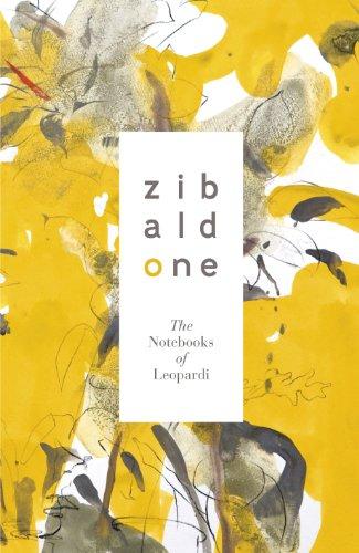 9780141194400: Zibaldone: The Notebooks of Leopardi