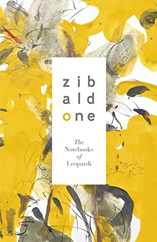 9780141194400: Zibaldone: The Notebooks of Leopardi