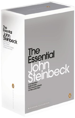 9780141198156: The Essential Steinbeck Boxed Set: Cannery Row, East of Eden, The Grapes of Wrath, Of Mice and Men (Penguin Modern Classics)