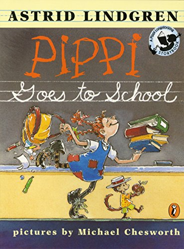 9780141302362: Pippi Goes to School: Picture Book (Pippi Longstocking Storybook)