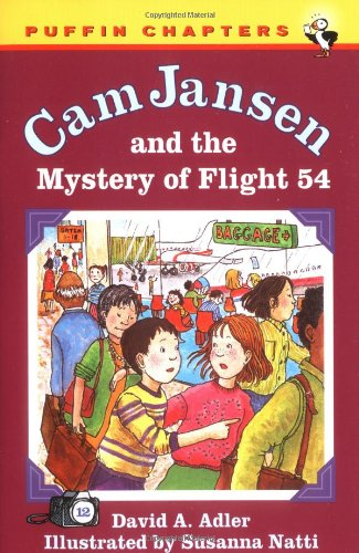 9780141304595: Cam Jansen: The Mystery of Flight 54 #12