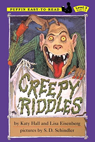 9780141309880: Creepy Riddles (Easy-To-Read: Level 3)