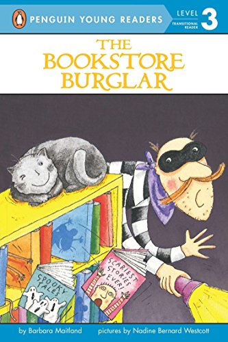 9780141310336: The Bookstore Burglar (Penguin Young Readers, Level 3)