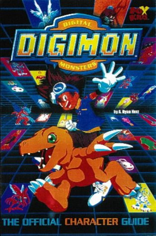 9780141310572: Digimon Digital Monsters: Official Character Guide (Digital Digimon Monsters)