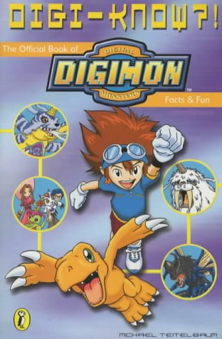 9780141311456: Digi-know?: The Official Book of Digimon Facts and Fun