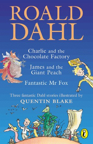 9780141311630: Dahl Omnibus: Charlie and the Chocolate Factory / Fantastic Mr Fox / James and the Giant Peach