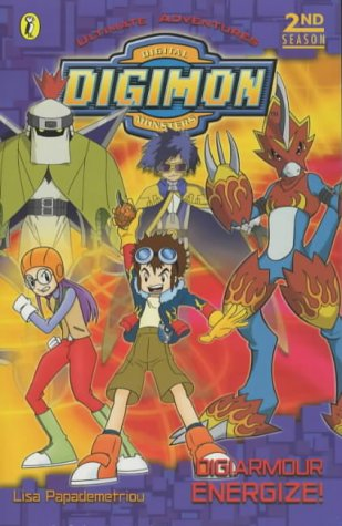 9780141312743: Digimon Digital Monsters: Digiarmour Energize!
