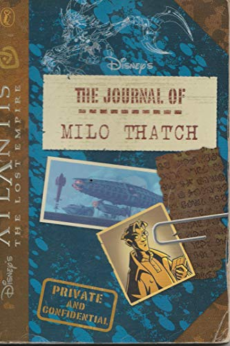 9780141313719: Atlantis the Lost Empire: The Journal of Milo Thatch
