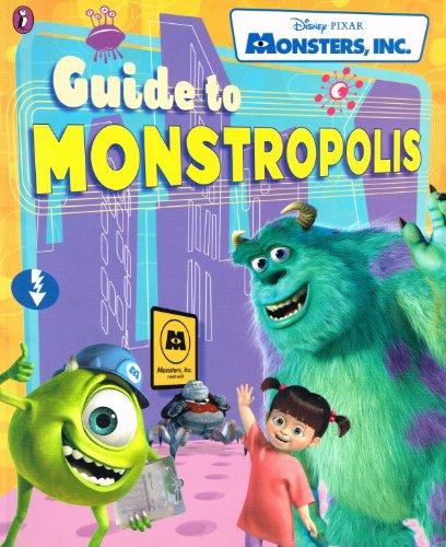 9780141314334: Monsters, Inc. Guide to Monstropolis (Disney)