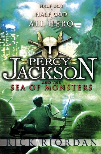 Percy Jacksn and the Sea of Monsters. Half Boy. Half God. All Hero