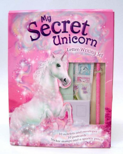 My Secret Unicorn Letter Writing Set (0141320451) by Linda Chapman