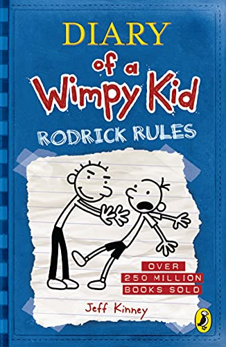 Diary of a Wimpy Kid: Rodrick Rules (Book 2) (Paperback)