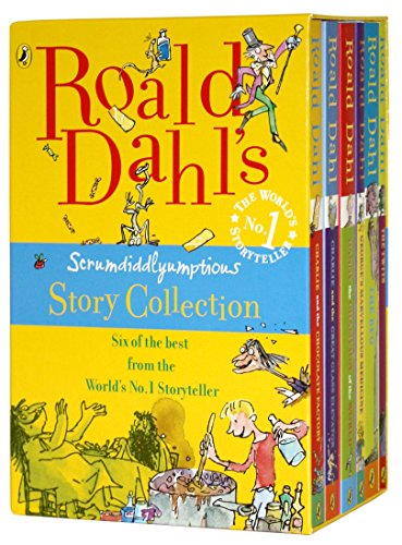 9780141325460: Roald Dahl's Scrumdidlyumptious Story Collection (Box set)