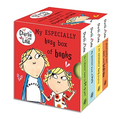 9780141328133: My Especially Busy Box of Books (Charlie and Lola)