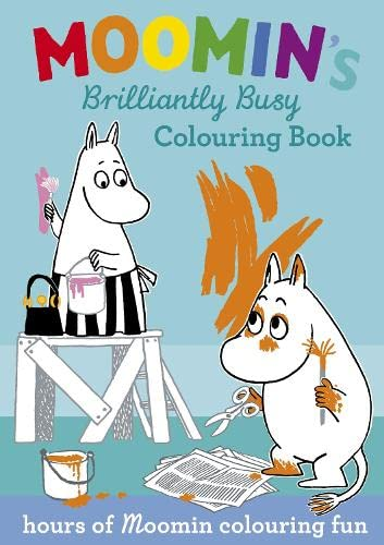 9780141328782: Moomin's Brilliantly Busy Colouring Book