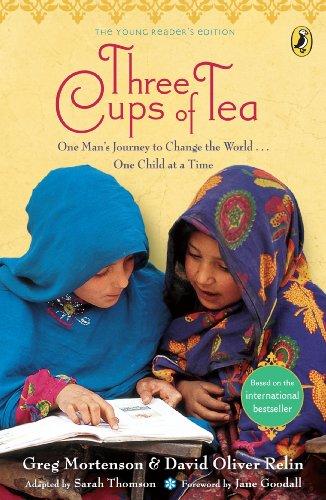 9780141329000: Three Cups of Tea. Greg Mortenson & David Oliver Relin