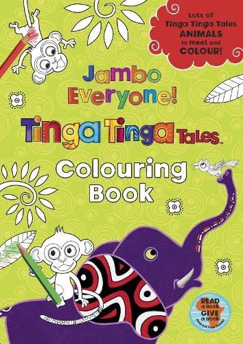 9780141329369: Tinga Tinga Tales: Jambo Everyone! Colouring Book
