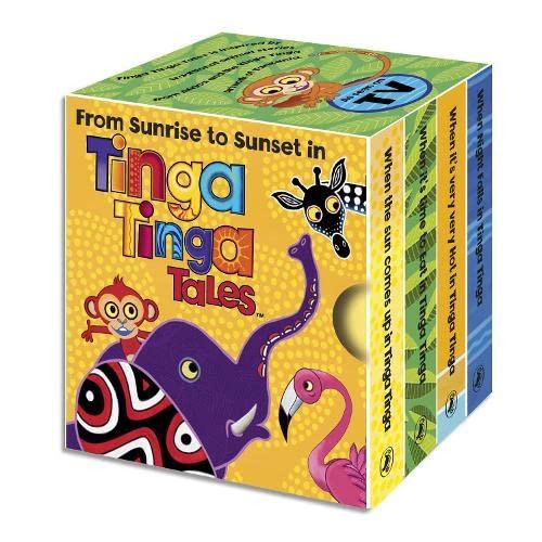 9780141329376: From Sunrise to Sunset in Tinga Tinga: Little Library (Tinga Tinga Tales)