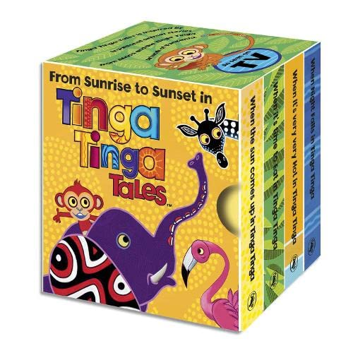 9780141329376: From Sunrise to Sunset in Tinga Tinga: Little Library (Tinga Tinga Tales)