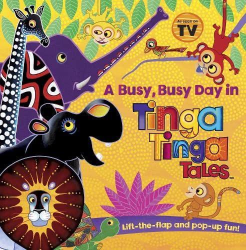 9780141329918: Tinga Tinga Tales: A Busy, Busy Day in Tinga Tinga