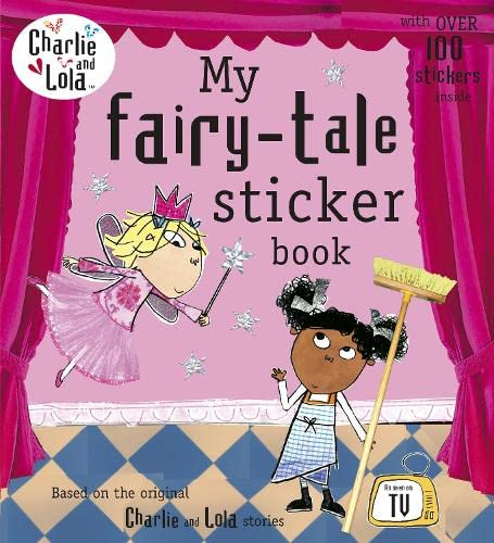 9780141331553: Charlie and Lola: My Fairy Tale Sticker Book