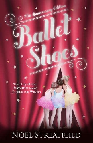 Ballet Shoes 9780141334424 Ballet Shoes is the much loved classic by Noel Streatfield 'I wonder . . . if other girls had to be one of us, which of us they'd choose to be?' Pauline longs to be an actress. Petrova is happiest playing with cars and engines. And if she could . . . Posy would dance all day! But when their benefactor Great-Uncle Matthew disappears, the Fossil girls share a future of a dazzling life on stage, where their dreams and fears will soon come true . . . Noel Streatfeild once said that Ballet Shoes was 'really a fairy story with its feet half-way on the ground' - a magical description for a magical book. Noel was born in Sussex in 1895 and was one of three sisters. Although she was considered the plain one she ended up leading the most glamorous and exciting life! After working in munitions factories and canteens for the armed forces when WWI broke out, Noel followed her dream of being on stage and went to RADA where she became a professional actress. She began writing children's books in 1931 and Ballet Shoes was published in 1936. She quickly became one of the most popular authors of her day. When she visited Puffin exhibitions, there were queues right out of the building and all the way down The Mall. She was one of the first winners of the Carnegie Medal and was awarded an OBE in 1983. Noel Streatfeild lived in London. She died in 1986. Also by Noel Streatfield: Ballet Shoes; Tennis Shoes; The Circus is Coming; The House in Cornwall; The Children of Primrose Lane; CUrtain Up; Party Frock; The Painted Garden; White Boots; The Fearless Treasure; The Bell Family; Wintle's Wonders; New Town; Apple Bough; A Vicarage Family; The First Book of the Ballet; The Children on the Top Floor; Away from the Vicarage; The Growing Summer; Caldicott Place; Thursday's Child; Beyond the Vicarage; Ballet Shoes for Anna; When the Siren Wailed; Far To Go