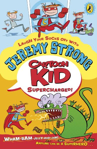 9780141334752: Cartoon Kid Supercharged!