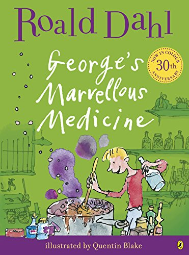 9780141335582: George's Marvellous Medicine Colour Edition