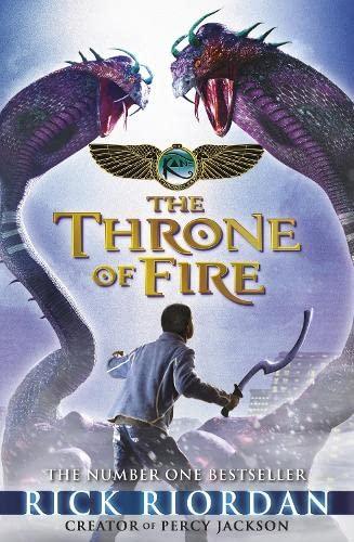 Throne of Fire, the: Rick Riordan