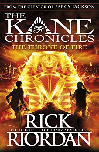 9780141335674: The Throne of Fire (The Kane Chronicles, Book 2)