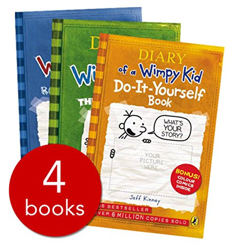 9780141337678: Diary of a Wimpy Kid Boxset: Diary of a Wimpy Kid / Rodrick Rules / The Last Straw / Dog Days