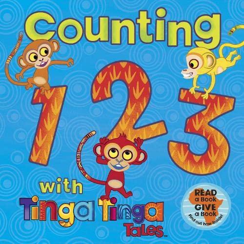 Counting 1 2 3 with Tinga Tinga Tales.: Tiger Aspect