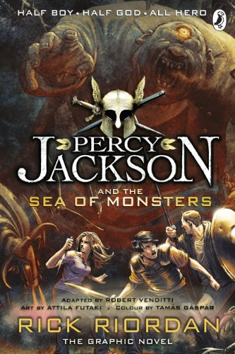 9780141338255: Percy Jackson and the Sea of Monsters: The Graphic Novel