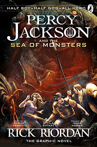 9780141338255: Percy Jackson and the Sea of Monsters: The Graphic Novel (Book 2) (Percy Jackson Graphic Novels)